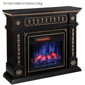 電気式暖炉 ドノヴァン(3Dパワーヒートタイプ)/送料無料/LLOYD GRANDE/ロイドグランデ/暖炉 温風ヒーター 暖炉型ヒーター 暖房器具 oxford-c