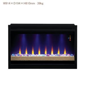 36インチ電気暖炉本体ファイヤーアート 1000w 送料無料/LLOYD GRANDE/ロイドグランデ/暖炉 温風ヒーター リビング 輸入家具 暖房器具|oxford-c