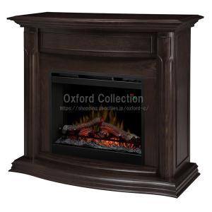 電気式暖炉 グウェンドリン エスプレッソ / 送料無料/ディンプレックスカナダ/暖炉 温風 暖炉型ヒーター リビング 暖房器具|oxford-c
