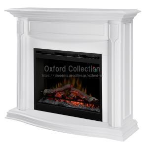電気式暖炉 グウェンドリン ホワイト / 送料無料/ディンプレックスカナダ/暖炉 温風 暖炉型ヒーター リビング 暖房器具|oxford-c