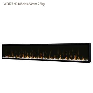 ビルトイン電気式暖炉 100インチ イグナイト マルチファイヤー ディンプレックスカナダ/イタヤランバー/暖炉 温風 暖炉型ヒーター 暖房器具|oxford-c