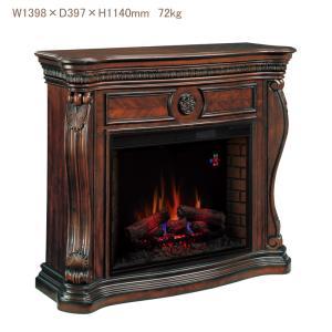 33インチ遠赤外線電気式暖炉セット レキシントン  送料無料/LLOYD GRANDE/ロイドグランデ/暖炉 温風ヒーター 暖炉型ヒーター|oxford-c