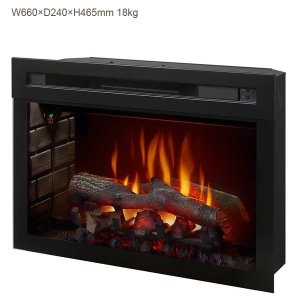 アウトレット/25インチ電気式暖炉 マルチファイヤーXD ファイヤーウッド/キズ有り/送料無料/ディンプレックスカナダ/イタヤランバー/暖炉|oxford-c