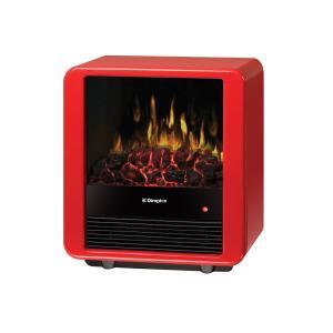 アウトレット035/ 電気式薪ストーブ ミニキューブ /天板キズあり/送料無料/ディンプレックスカナダ/イタヤランバー/暖炉型ヒーター 暖房器具 薪ストーブ|oxford-c