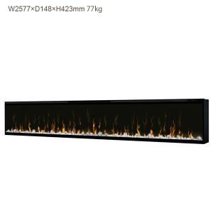 アウトレット036/ビルトイン電気式暖炉 100インチ イグナイト マルチファイヤー /フレームキズあり/ディンプレックスカナダ/イタヤランバー/暖炉 温風 暖房器具|oxford-c