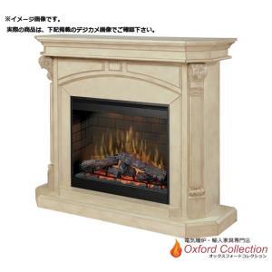 アウトレット 30インチ 電気式暖炉本体オヴェーションDF3015 暖炉棚ブロムレイ アンティークホワイト SR返り/送料無料/|oxford-c