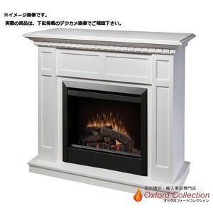 アウトレット 23インチ 電気式暖炉キャップライス ホワイト 塗装品/送料無料/|oxford-c