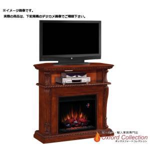 アウトレット 23インチ 電気式暖炉コリンス ビンテージチェリー SR返り/送料無料/ oxford-c