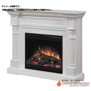 アウトレット/26インチ 電気式暖炉ウィンストン ホワイト ヘコミ・キズあり/送料無料/ディンプレックスカナダ/イタヤランバー|oxford-c