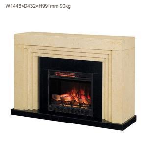 遠赤外線3D電気式暖炉 レイニア 送料無料/LLOYD GRANDE/ロイドグランデ/暖炉 温風ヒーター 暖炉型ヒーター リビング 暖房器具の画像