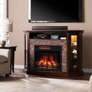 電気式暖炉 レデン(3Dパワーヒートタイプ)/エスプレッソ/送料無料/LLOYD GRANDE/ロイドグランデ/暖炉 温風ヒーター 暖炉型ヒーター oxford-c