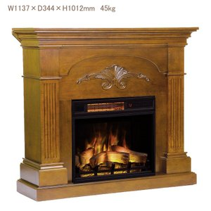 電気式暖炉 シシリアンハーヴェスト マホガニー(3Dパワーヒートタイプ)/送料無料/LLOYD GRANDE/ロイドグランデ/暖炉 暖炉型ヒーター 暖房器具|oxford-c