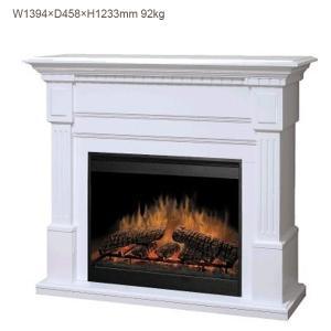 電気式暖炉 スセックス ホワイト 送料無料/ディンプレックスカナダ/イタヤランバー/暖炉 温風 暖炉型ヒーター リビング 暖房器具|oxford-c