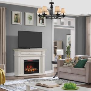 28インチ遠赤外線3D電気式暖炉セット スウェディシュクラシック  送料無料/LLOYD GRANDE/ロイドグランデ/暖炉 温風ヒーター 暖炉型ヒーター oxford-c