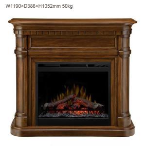中の暖炉本体はディンプレックス26インチ電気式暖炉シンフォニーDF2600です。 ブラックの本体に、...