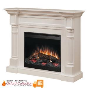 電気式暖炉 ウィンストン アンティークホワイト 送料無料/ディンプレックスカナダ/イタヤランバー/暖炉 温風 暖炉型ヒーター リビング 暖房器具|oxford-c