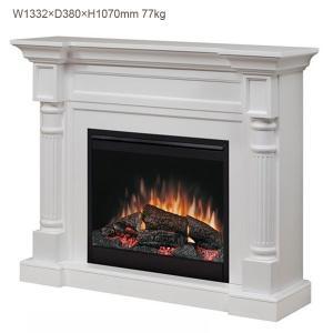 電気式暖炉 ウィンストン ホワイト 送料無料/ディンプレックスカナダ/イタヤランバー/暖炉 温風 暖炉型ヒーター リビング 暖房器具|oxford-c