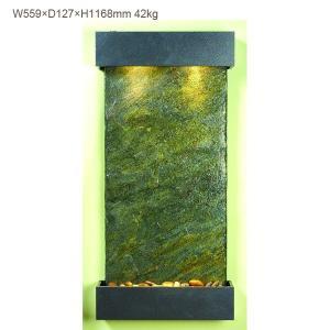 ウィスパリング・クリーク グリーンスレート 送料無料/人口の滝 壁掛け 天然石|oxford-c