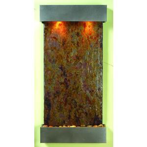 ウィスパリング・クリーク マルチカラースレート 送料無料/人口の滝 壁掛け 天然石|oxford-c