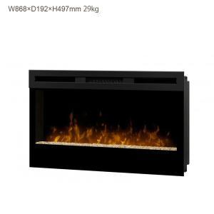 ビルトイン&ウォールマウント電気式暖炉 34インチ ウィックソン 送料無料/ディンプレックスカナダ/イタヤランバー/暖炉 温風 暖炉型ヒーター リビング 暖房器具|oxford-c