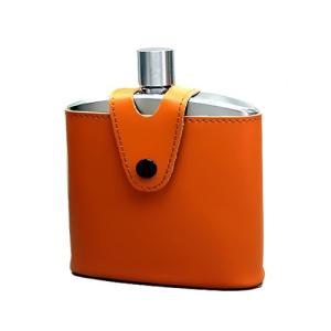 【20%OFF】バッカス・ウイスキーボトル170ml (革ケース付)【ウィスキー/ウイスキー/フラスコ/ボトル】|oxtos-japan
