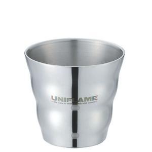 【ポイント5倍】UNIFLAME(ユニフレーム) ウェーブダブルマグSUS 666135|oxtos-japan