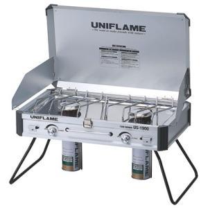 【ポイント5倍】UNIFLAME(ユニフレーム) ツインバーナーUS-1900 610305|oxtos-japan