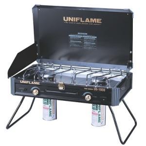【ポイント5倍】UNIFLAME(ユニフレーム) ツインバーナー US-1900 ブラック 610312|oxtos-japan