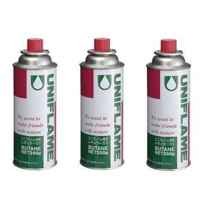 【ポイント5倍】UNIFLAME(ユニフレーム) レギュラーガス(3本)650028|oxtos-japan