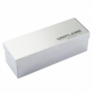 【ポイント5倍】UNIFLAME(ユニフレーム) キャニスターメタルケース3 662830|oxtos-japan