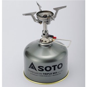 【ポイント5倍】SOTO(ソト)アミカス SOD-320【ガス/ストーブ/コンロ/バーナー/登山】|oxtos-japan