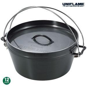 UNIFLAME(ユニフレーム) UFダッチオーブン 12インチ 660997|oxtos-japan