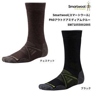 Smartwool(スマートウール) PhDアウトドアミディアムクルー SW71055002005|oxtos-japan