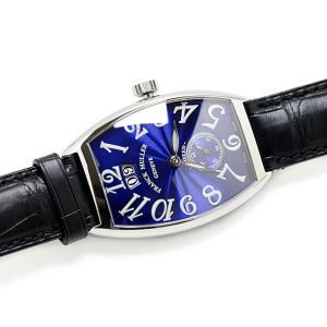フランクミュラー リミテッド2000 2851S6 1000本限定 ブルー メンズ 磨き済 腕時計 美品...