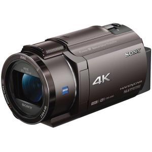 SONY ビデオカメラ FDR-AX40 TI ブロンズブラ...