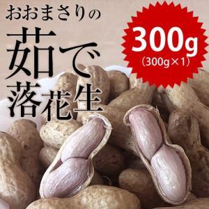 新豆 令和元年産 千葉県産 おおまさり ゆで落花生 300g 2WEEKS0318