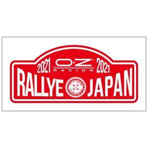 OZ ラリーJapan ステッカー2021 80x35|oz-japan