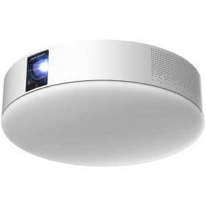 PA20U01DJ  popIn Aladdin 2 ポップインアラジン 天井 照明 プロジェクター フルHD 家庭用 テレビ 映画 ホームシアター スピーカー 短焦点 スマホ対応|ozaki