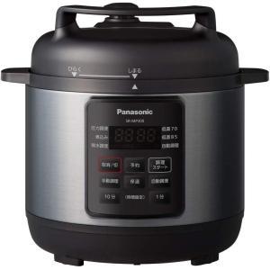 新品 アウトレット 訳あり特価(箱痛み)SR-MP300-K  パナソニック 電気圧力鍋 時短なべ 3L ブラック (圧力、低温、無水、煮込、自動調理) SRMP300K|ozaki