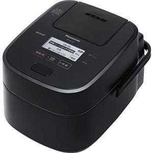 新品 アウトレット 訳あり特価(箱痛み)SR-VSX100-K パナソニック 炊飯器 5.5合 スチーム可変圧力IH式 Wおどり炊き タッチパネル液晶 ブラック SR-VSX100|ozaki