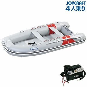 ゴムボート 4人乗り ジョイクラフト JEX-315ワイド(予備検査付)|ozatoya