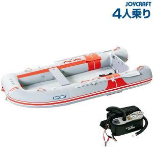 ゴムボート 4人乗り ジョイクラフト オレンジペコ305ワイド(予備検査付)|ozatoya
