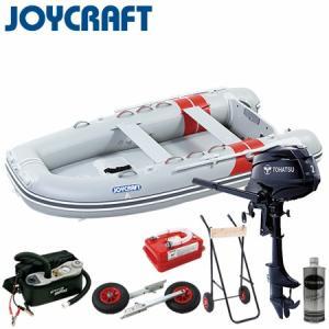 【セット内容】 ・ボート本体 JEX-315W(予備検査付) ・トーハツ2馬力4ストローク船外機 ・...