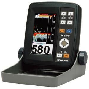ホンデックス(HONDEX) 魚群探知機 PS-500C〈4.3型ワイドカラー ポータブル魚探〉|ozatoya