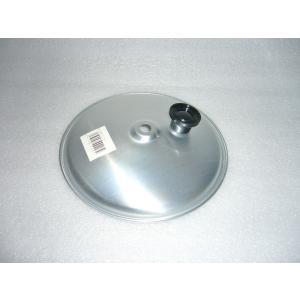 親子鍋のふた 丼もの専用鍋 プロも使用 アルミ製 親子フタ 前川金属|ozawa-shoten