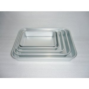 調理道具 角形 浅い容器 材料入れ 揚げ物 料理の下ごしらえに便利 標準バット 前川金属 2号|ozawa-shoten