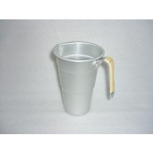 調理道具 キッチンツール 熱燗 湯煎 急冷 注ぎ口付き 籐巻タンポ 前川金属 1号|ozawa-shoten