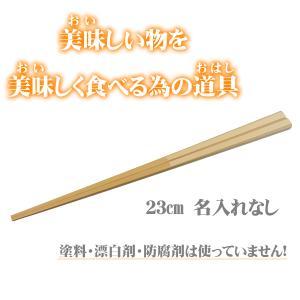マイ箸 すべらない竹箸 男性用 23cm お試し価格 my箸