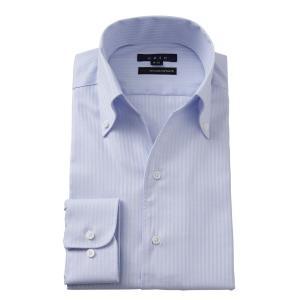 ワイシャツ メンズ 長袖 スリム ビジネスシャツ Yシャツ カッターシャツ ボタンダウン スキッパーシャツ イタリアンカラー おしゃれ 大きいサイズ イージーケア|ozie