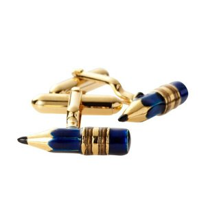 カフリンクス カフスボタン モチーフ 鉛筆 オジエ ozie 日本製|ozie
